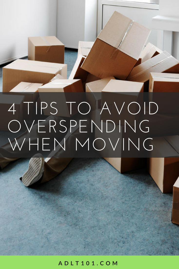 Moving kinda sucks.. and it can be super expensive, but fear not! These 4 tips can save you a ton of time and money during this trying time. Check it out now, or repin for later!