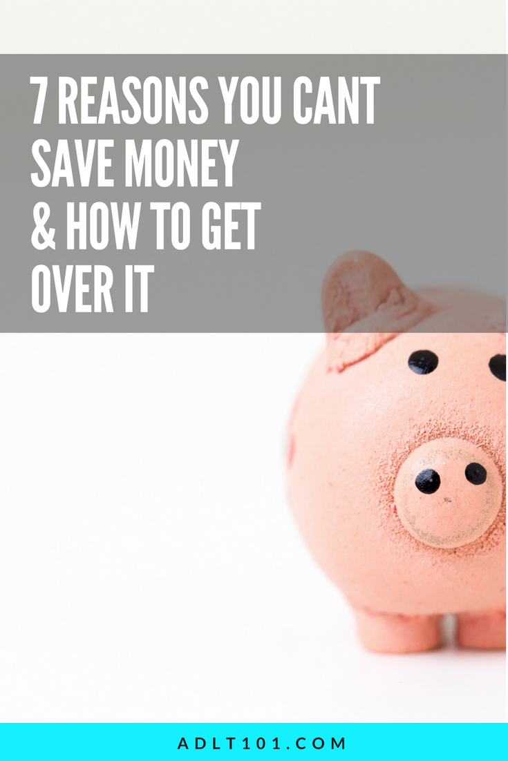 Every month you say you're going to save money and every month it never seems to happen... here are a few ways to finally get over the hump and build your bank account.